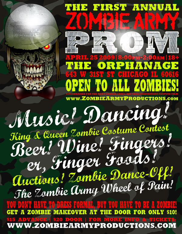 The First Annual Zombie Army Prom